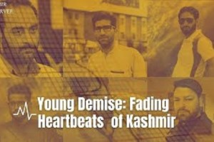 Young Demise: Fading Heartbeats of Kashmir