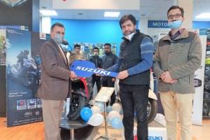 Alfa Suzuki Launches New Scooty Models In Srinagar, Anantnag