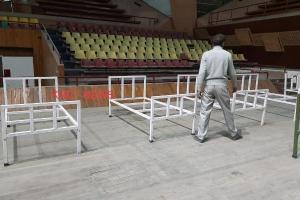 Srinagar Indoor Stadium A COVID Emergency Care Centre Now
