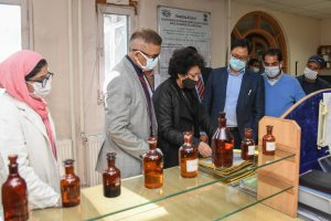 Rijiju Inspects Infrastructure At Institute of Unani Medicine Srinagar