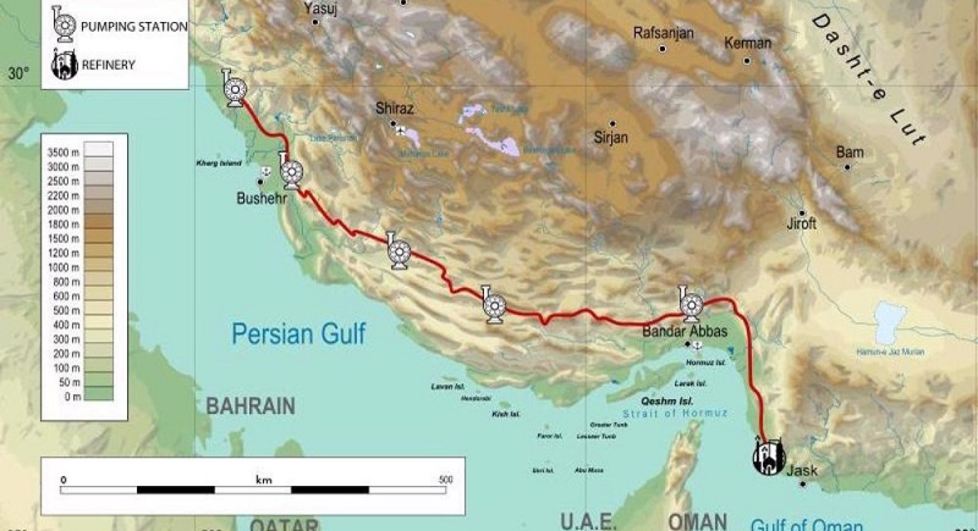 Iran To Bypass Key Oil Chokepoint By Exporting From Jask Terminal