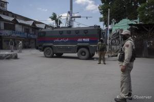 Srinagar Under Siege On Mirwaiz, Lone Anniversary