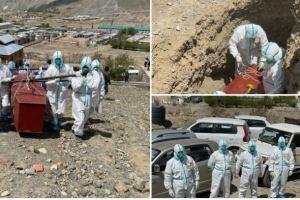 Muslim Volunteers Bury Christian Covid Victim In Kargil