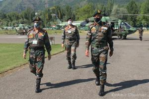 Army Chief In Jammu To Review Situation Follwing Militant Upsurge