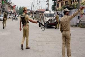 Militants Attack Police Patrol, Target Cops Family