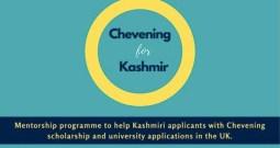 Kashmiri Chevening Scholars Launch Mentorship For Hr Edu & Scholarships