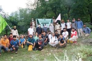 Wildlife Protection Department Organises Trekking Event