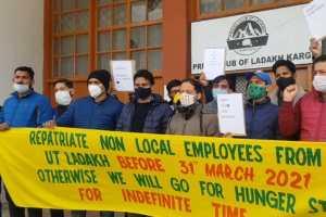 200 Employees Demand Repatriation From Ladakh