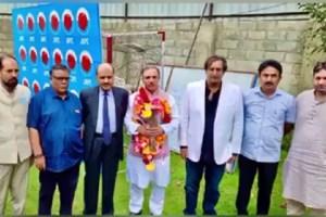 Ex JKB Chairman Parvez Ahmad Joins PC