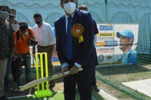 M S Dhoni Cricket Academy Launched In Srinagar