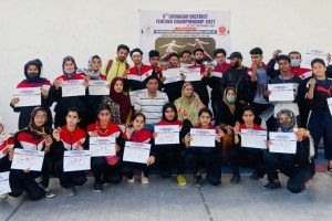 5th District Srinagar Fencing Championship Concludes