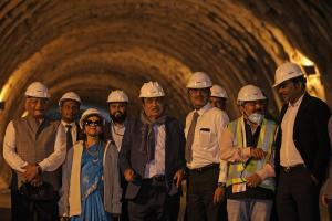 Work on Zojila Tunnel to Continue Even in Winter