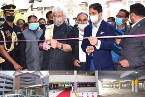 LG Inaugurates Multi-Level Car Parking In City