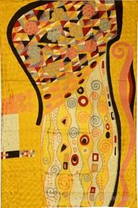 Klimt Art Nouveau Gold Silk Modern Abstract Rug / Tapestry ...