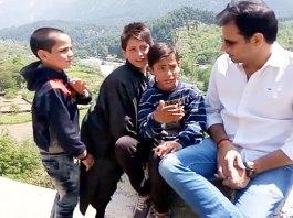 What happened when a tourist asked Kashmiri kids to explain Aazadi