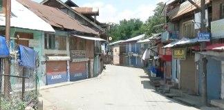 Shutdown in Tral