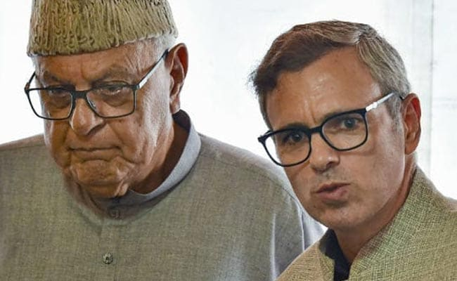 Detained Farooq Abdullah has a quiet birthday