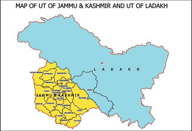 J&K slumps to bottom of governance index in India