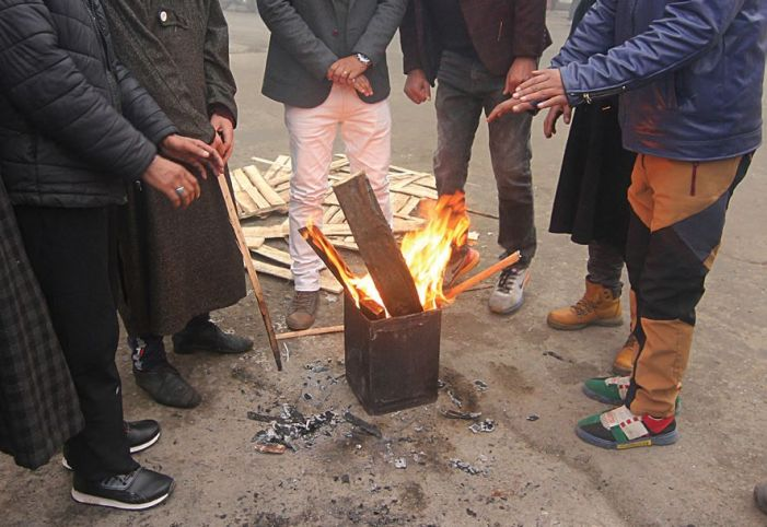Srinagar records minus 4.3 degrees Celsius