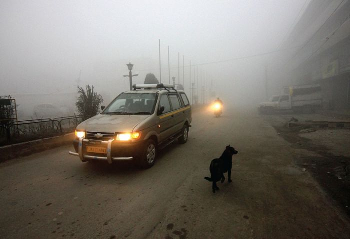 Dense fog disrupts flight operations in Jammu
