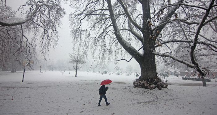 Snow across JK brings severe cold to north Indian plains