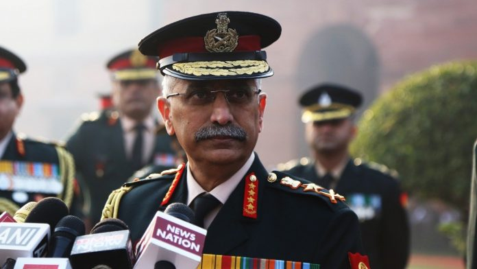 Army chief visits forward posts in Ladakh