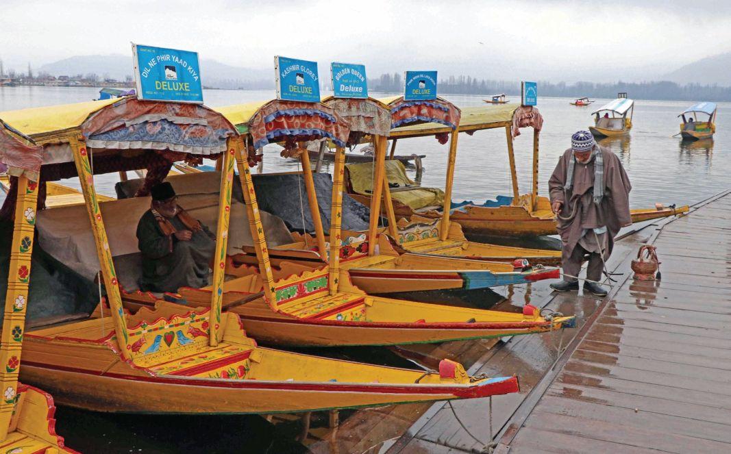 Rains lashed Kashmir