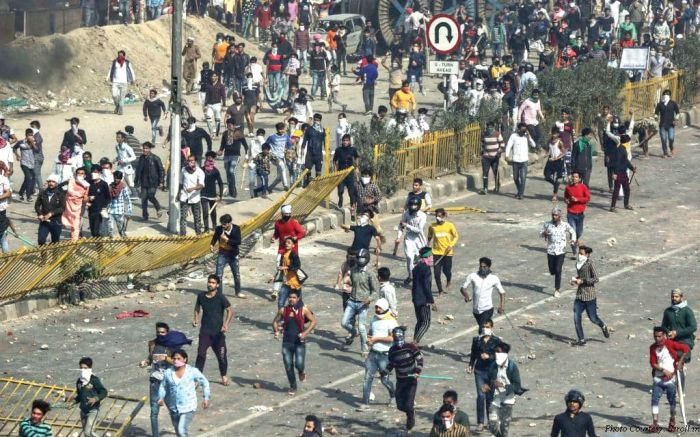 Eerie calm prevails in riot-hit areas