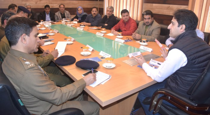 Steps to be taken to disinfect public places, says Srinagar Mayor