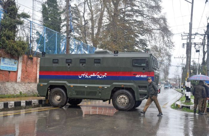 Three more test positive in Kashmir