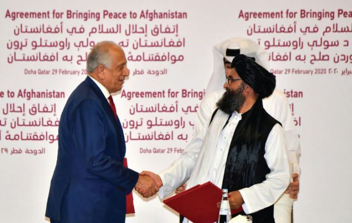 US envoy forges ahead with troubled Taliban peace deal