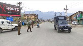 50 arrested in Kashmir for lockdown violations