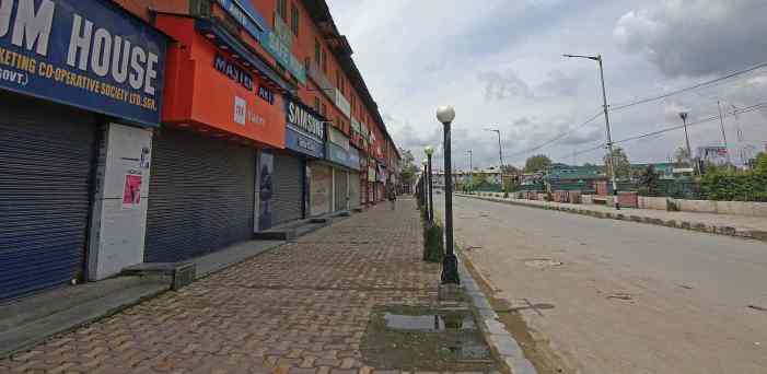Lockdown Continues in Srinagar