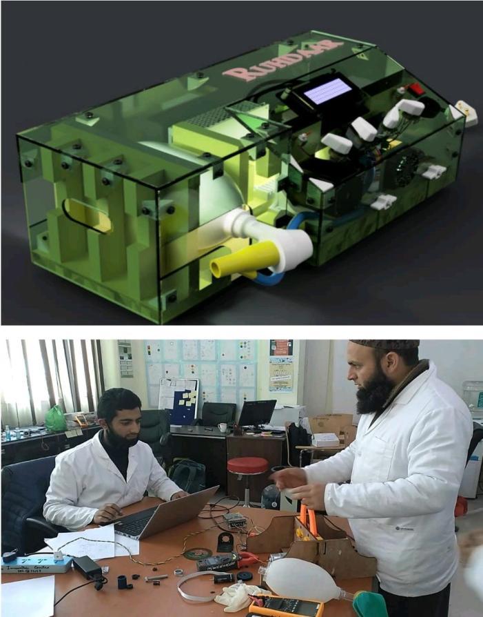Amid COVID-19 pandemic, IUST innovators create 'frugal' ventilator prototype