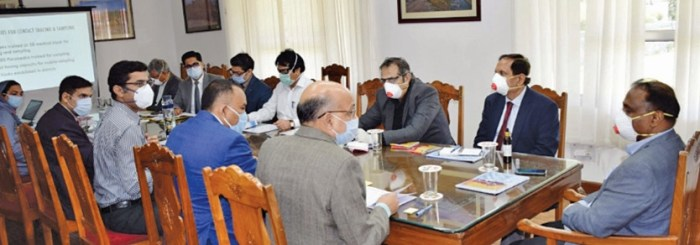 Robust arrangements in place for prevention in Kashmir: LG Murmu