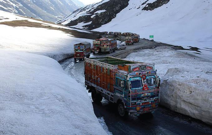 Sgr-Leh highway closed from today