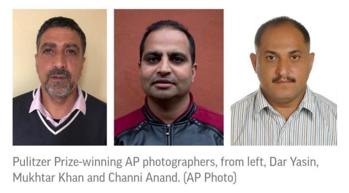 Kashmir photojournalists win Pulitzer prizes