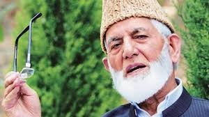 Geelani calls it quits in the face of 'current state of affairs' in Hurriyat Conference