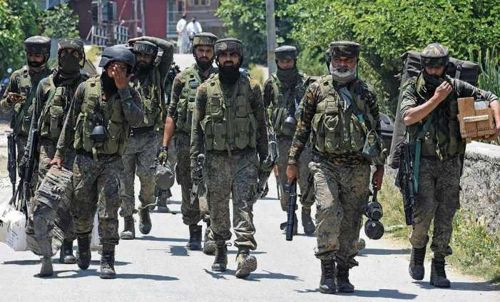 Two Jaish militants killed, woman wounded in Bijbehara encounter