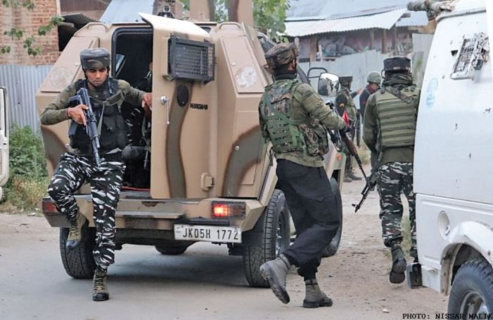 3 militants, ASI killed in Srinagar gunfight
