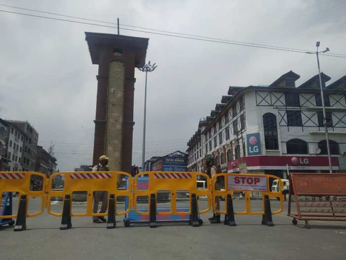 Strict lockdown restrictions reimposed in parts of Kashmir after spike in COVID-19 cases