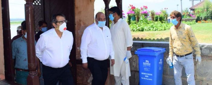 Advisor Baseer Khan conducts city tour, inspects development works at tourist destinations