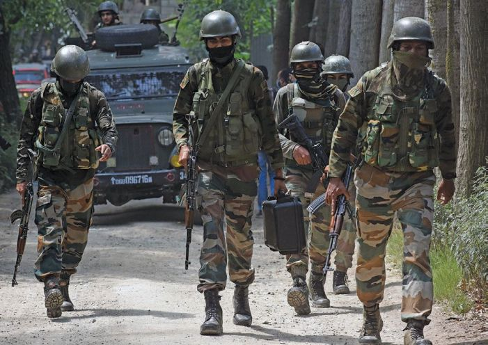 Govt forces launch search operation in Baramulla village after gunshots heard
