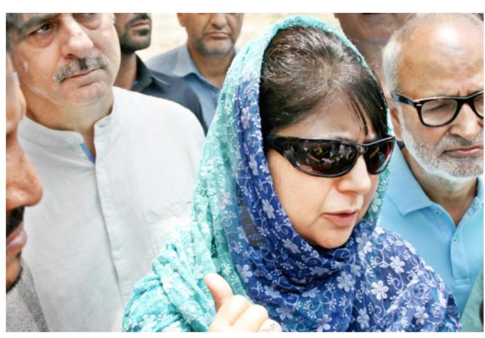 No, Mehbooba's cousin did not leave the IFS to join politics; he still works there