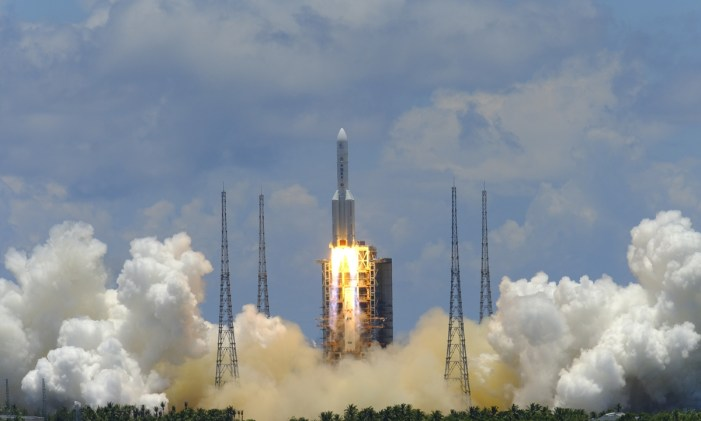 China launches first Mars mission