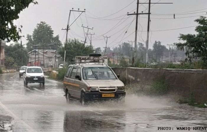 Jammu records 50.1 mm rainfall in a day, second-highest for January in two decades