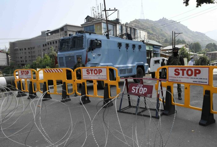 Security beefed up in Kashmir ahead of Independence Day