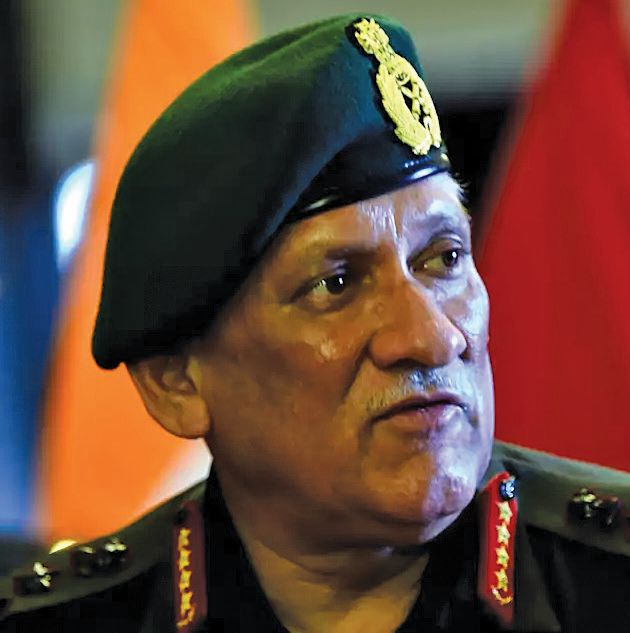 India-China standoff Military option if talks fail: Gen Rawat