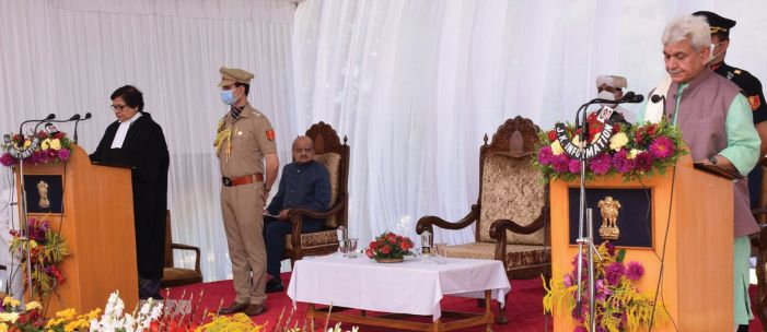 New J&K Guv stresses on zero tolerance for corruption, promotion of youth-centric policies
