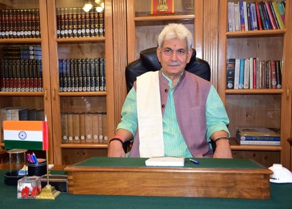 Will ensure governance without discrimination to all J&K districts: LG Sinha